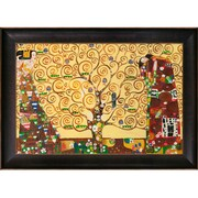 Tori Home The Tree of Life, Stoclet Frieze by Klimt Framed Hand Painted Oil on Canvas