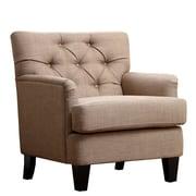 Abbyson Living Freemont Linen Chair