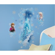 Room Mates Popular Characters Frozen Ice Palace with Else and AnnaWall Decal