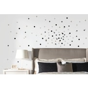 Room Mates Neutral Confetti Dots Wall Decal