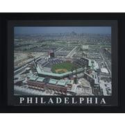 Decor Therapy Philadelphia Baseball Framed Photographic Print