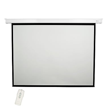 Loch Matte White 84'' diagonal Electric Projection Screen