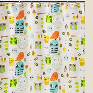 Creative Bath Give a Hoot Cotton Shower Curtain