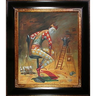 Tori Home Time of King by Sergey Roy Framed Painting Print