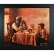 Tori Home The Thankful Poor by Tanner Framed Hand Painted Oil on Canvas