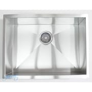 eModern Decor 26'' x 20'' Single Bowl Undermount Kitchen Sink