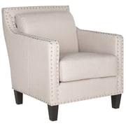 Safavieh Lucy Arm Chair; Beige