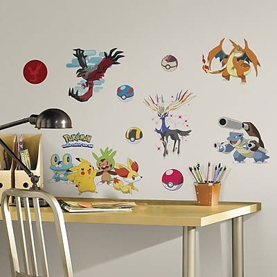 Room Mates Popular Characters Pokemon XY Wall Decal WYF078277021922