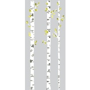 Room Mates Deco Birch Trees Peel and Stick Giant Wall Decal