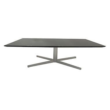 Pangea Home Chase Coffee Table; Gray