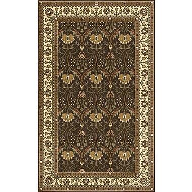 Momeni Persian Garden Cocoa Area Rug; 5' x 8'