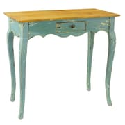 Antique Revival Maryanna Console Table; Blue