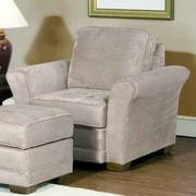 Serta Upholstery Chair; Padded Mushroom