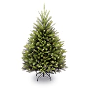 National Tree Co. Innsbruk Pine 4.5' Hinged Green Artificial Christmas Tree w/ 450 Clear Lights
