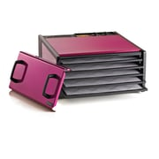 Excalibur 5 Tray Dehydrator with Timer; Raspberry