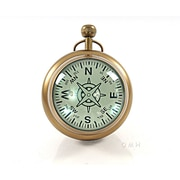 Old Modern Handicrafts 6'' Paper Weight Clock