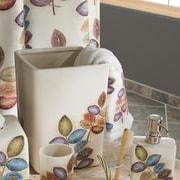 Croscill Mosaic Leaves Waste Basket