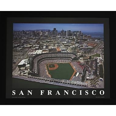 Decor Therapy San Francisco Baseball Photographic Print