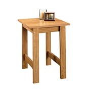 Sauder Beginnings End Table; Highland Oak