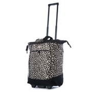 Olympia Fashion Leopard Rolling Shopping Tote