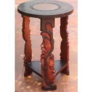 Novica Wood Accent Table