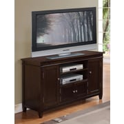 Simpli Home Carlton TV Stand with 2 Shelves