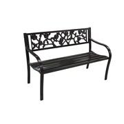 Jeco Inc. Steel Park Bench