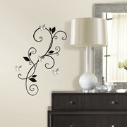 Room Mates Deco Scroll Sconce Wall Decal