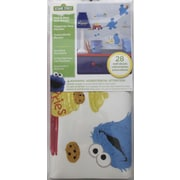 Room Mates Popular Characters Sesame Street Me Love Cookie Monster Peel and Stick Wall Decal