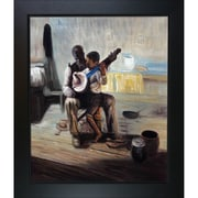 Tori Home The Banjo Lesson by Tanner Framed Hand Painted Oil on Canvas