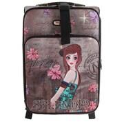 Nicole Lee 20'' Carry-On Suitcase