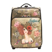 Nicole Lee 21'' Carry-On Suitcase