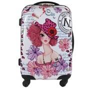 Nicole Lee Nicole Lee 21'' Sunny White Rolling Suitcase