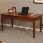 OS Home & Office Furniture Hudson Valley Computer Desk with Keyboard Tray; No Hutch