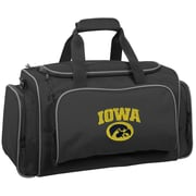 Wally Bags NCAA Collegiate 21'' Gym Duffel; University of Iowa