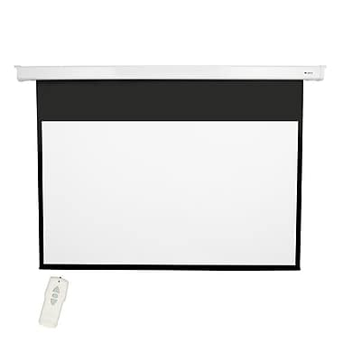 Loch Matte White 92'' diagonal Electric Projection Screen