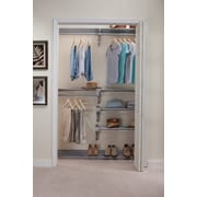 EZ SHELF from Tube Technology 120''W Closet System; Silver