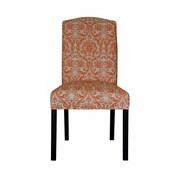 Sole Designs Abigail Side Chair; Mandarin Orange