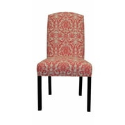 Sole Designs Abigail Side Chair; Flamingo Pink