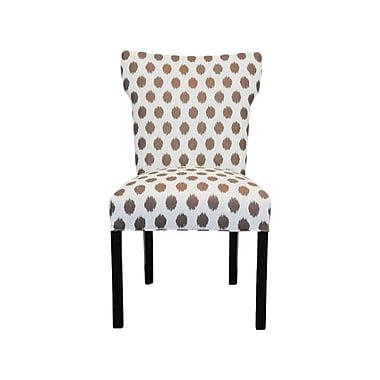 Sole Designs Bella Side Chair (Set of 2); Jojo Brown
