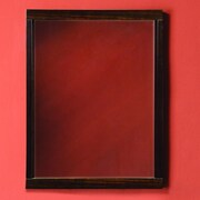 DecoLav Mila Framed Mirror; Ebony / Espresso