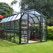 Rion Grand Gardener 2 Clear 8 Ft. W x 12 Ft. D Greenhouse