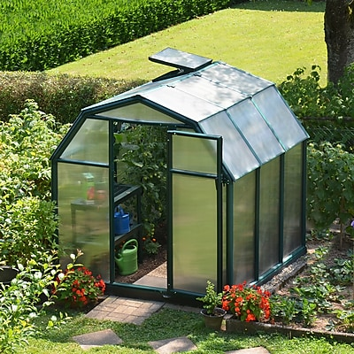 Rion EcoGrow 6.7 Ft. W x 6.6 Ft. D Greenhouse WYF078277023546