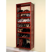 John Louis Home 16'' Deep Deluxe Stand Alone Tower Frame; Red Mahogany
