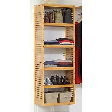 John Louis Home 26.25''W Shelf; Honey Maple