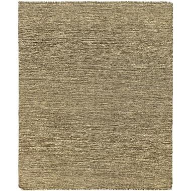 ECARPETGALLERY Open Field Natural/Brown Area Rug; 4'8'' x 5'8''