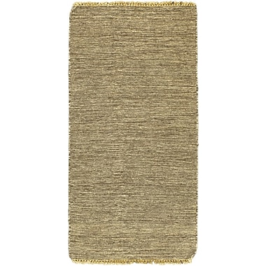 ECARPETGALLERY Open Field Natural/Brown Area Rug; 2'3'' x 4'7''