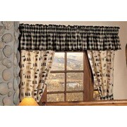 True Grit Northern Exposure Cotton Blend Curtain Valance