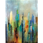 Portfolio Canvas ''Steel Rising'' Painting Print on Wrapped Canvas