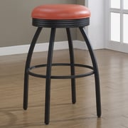 American Heritage Manhattan 26'' Swivel Bar Stool; Orange